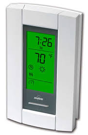 Schluter Heated Floor Manual by Thermosoft Th115 Af Ga U Thermostat