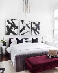99 New York Style Bedroom I Just Cant Get Over This Burgundy Velvet Bench New York