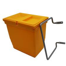 hängen auf tür küche kleinen mülleimer abfall bins 4l verstecken stil poubelle de küche mülleimer neue pp küche müll tasche halter
