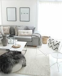 deco canapé gris déco salon superbe salon gris et blanc canapé gris perle couleur