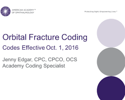 Orbital Floor Fracture Icd 9 by How To Code Oculofacial Fractures Treated Oct 1 Or After
