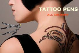 Temporary Tattoo Pens In All Colours