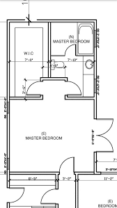 design dilemma of the master bathroom walk in closet