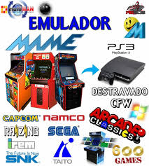 Emulador Mame 600 Patchs P/ Pc E Play3 Destrav - R$ 35,00 Em Mercado ...
