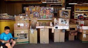 Caine Monroys Self Made Cardboard Arcade