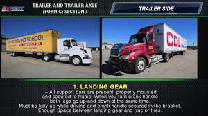 100 Area Truck Driving School Expert CDL TRAILER AND TRAILER AXLE FORM C