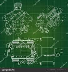100 Big Truck Paper A Big Diesel Engine With The Truck Depicted In The Contour Lines On