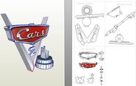 77 Papercraft Disney Cars