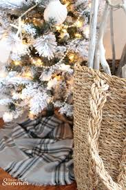 Seashell Christmas Tree Garland by Classy Christmas Home Tour Part Two U2014 House Full Of Summer