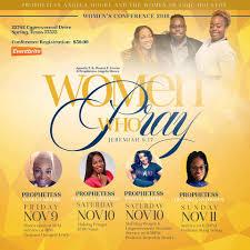 WOMEN WHO PRAY 2K18 The Exodus Church Houston From 9 To 11 November