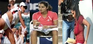 Sania Mirzas Hot Oops Moments On Tennis Court