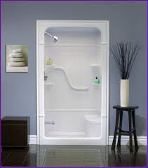 Bathroom Inserts Home Depot by One Piece Tub Shower Kohler And Bath With Insert Wall Options