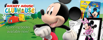 Disney Color Play Mickey Mouse Clubhouse Coloring Books Available Now