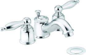 Moen Chateau Bathroom Faucet Home Depot by Moen Bathroom Faucets Bath The Home Depot Throughout Incredible