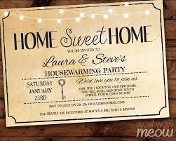 Housewarming Invitation Home Sweet Rustic New House Invite