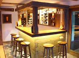 traumhafte bar aus über 300 jahre altem altholz bar holzbar
