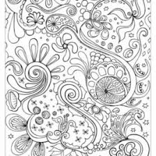 Adult Coloring Pages Abstract Download AZ
