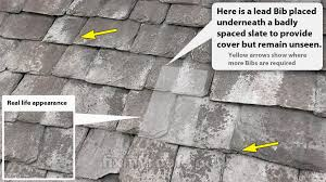 how to repair a slate roof easy diy replace broken missing slates
