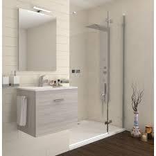 badezimmer badmöbel 60 cm aus eiche grau holz mit