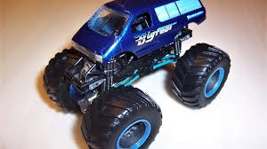 100 Bigfoot Monster Truck Toys Jam Custom Shuttle 1 64 YouTube