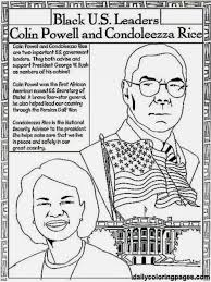 Free Black History Month Coloring Pages Color Sheets Sheet
