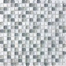 sle white blue glass mosaic tile kitchen backsplash bath