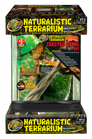 Zoo Med Naturalistic Terrarium - Crested Gecko Kit