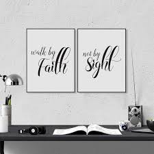 Love Never Fails Christian Prints Poster Bible Verse Canvas Painting For Home Living Room Wall Art