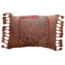 Red Decorative Lumbar Pillows by Tips Plaid Throw Pillows Pillows 24x24 Decorative Lumbar Pillows