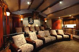 Living Room Theatre Fau by Living Room Theaters Fau Modern Stadium Style Home Theater 1