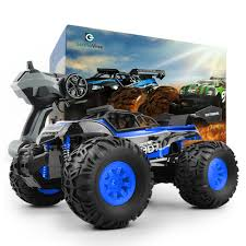 100 Bigfoot Monster Truck Toys Truggy RC Car Radio Control High Speed Racing