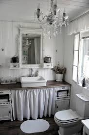 a shabby chic bathroom it look s like a clean light white