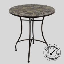 table ronde mosaique fer forge table fer forge mosaique spitpod