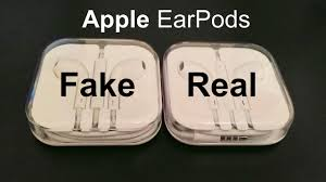 Fake VS Real Apple Earpods