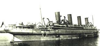 britannic mine sinking u boats attack white star line olympic