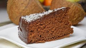 schokoladen kokos kuchen