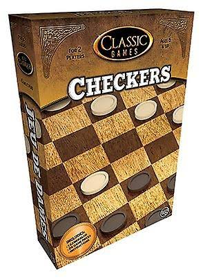 Classic Games Checkers Game