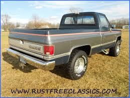 86 K10 Short Bed SWB Silverado 4x4 1986 Chevy Blue Silver