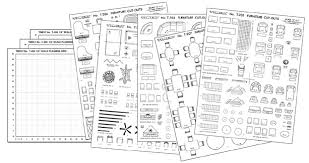 Floor Plan Template Free by Woodwork Furniture Templates For Floor Plans Free Pdf Plans