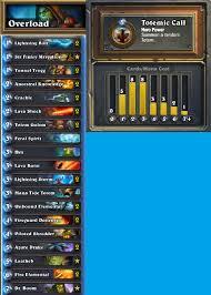 wog overload shaman analysis hearthstone decks