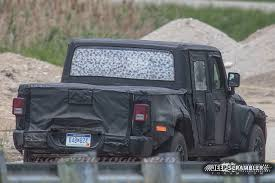 Jeep Truck Starts Undressing, Possibly Unveils Price Before 2019 ...