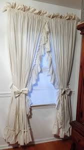 Pink Ruffled Window Curtains by Top 25 Best Priscilla Curtains Ideas On Pinterest Country