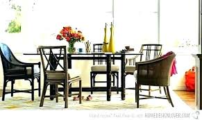 Eclectic Chairs Dining Room