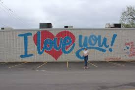 i love you wall in down town dallas deep ellum instagram spots
