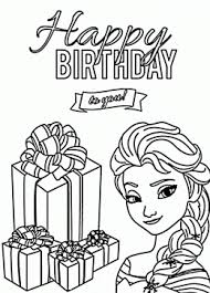 Elsa Coloring Page For Kids Holiday Pages Printables Free