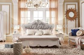 Luxury Italian Classic Provincial Antique King Size Bedroom Furniture Set