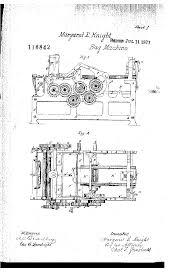 Paper Bag Machine Patent Margaret E Knights