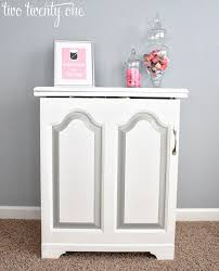 Sewing Cabinet Makeover Painting Furniture} Two Twenty e