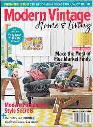 100 Modern Homes Magazine Vintage Home Living Premiere Issue 2018 Various