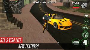 GTA 5 VISA 3 LITE 260 MB ONLY ON ANDROID APK DATA